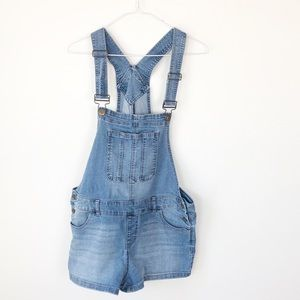 BLUESPICE denim overall shorts